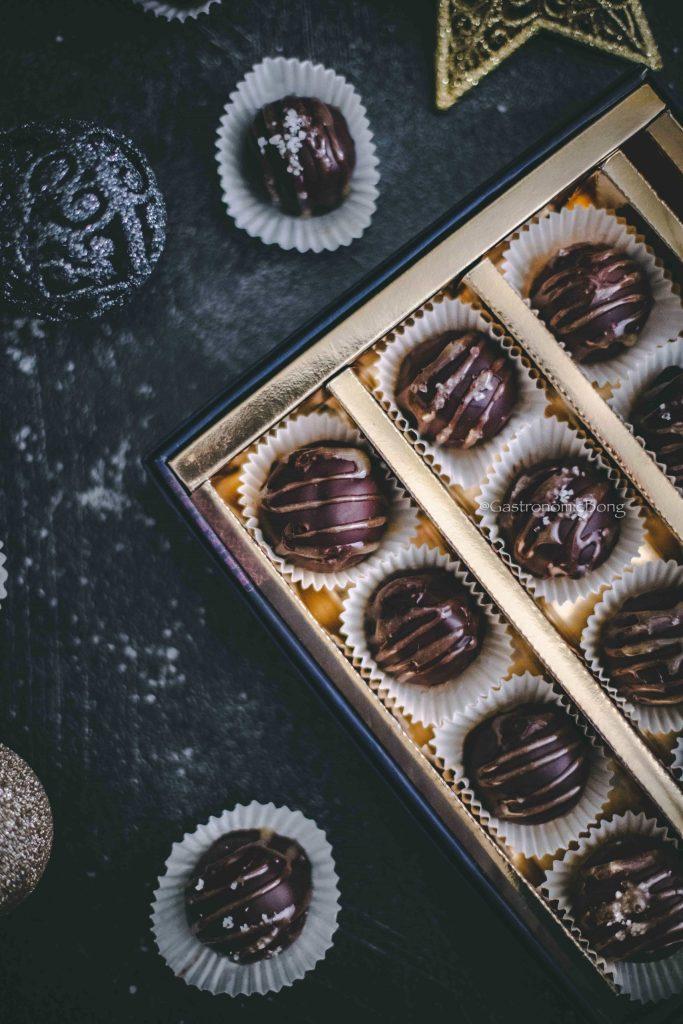 Christmas Chocolate truffles gift box