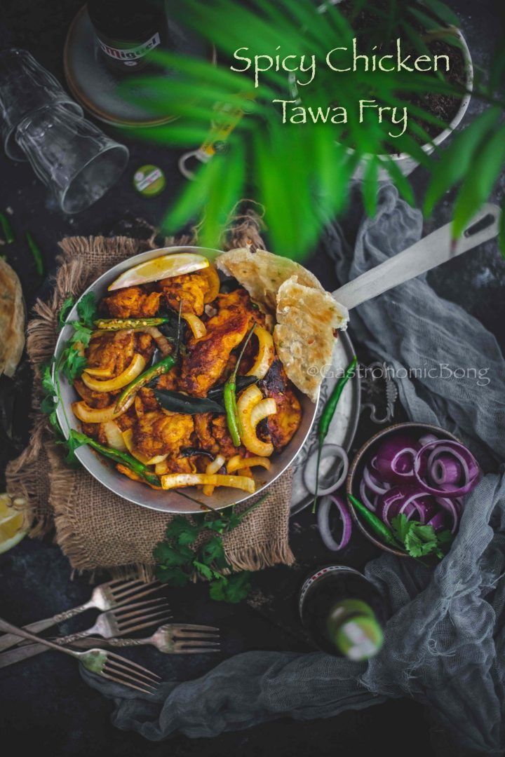 Spicy Chicken Tawa Fry