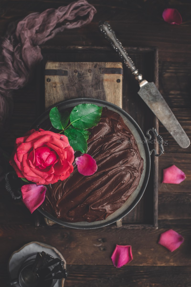 Chocolate Filter Coffee Fudge Cake