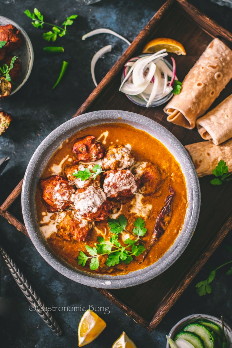 Roasted Eggplant Kofta Curry