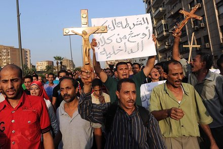 EGYPT COPTS PROTEST AFTERMATH
