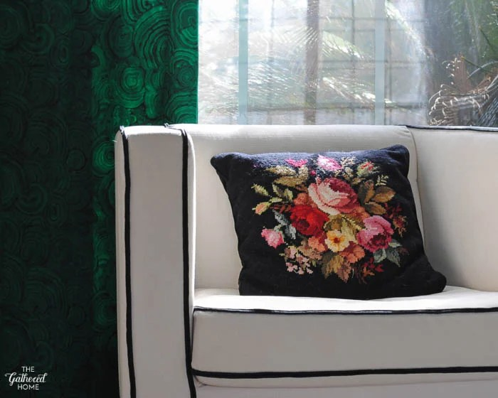 Decorating With Embroidery Finds