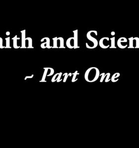 Faith & Science #1