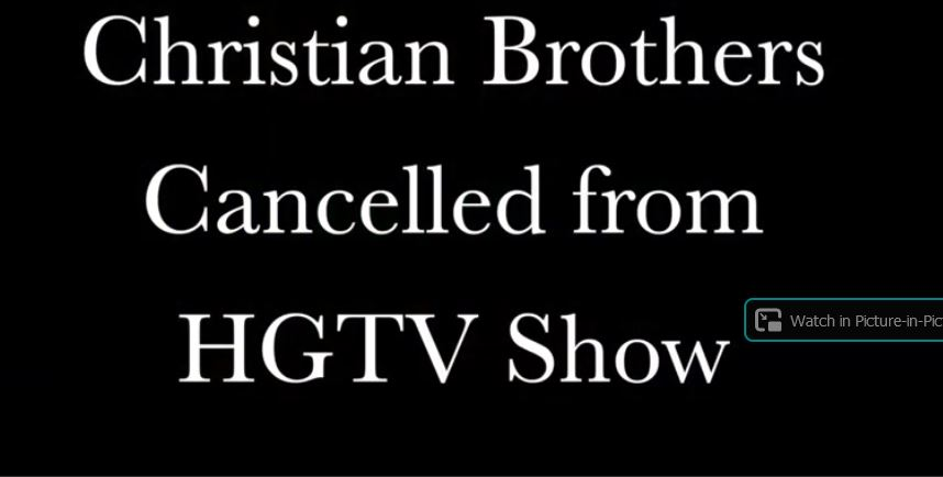 Christian HGTV Producer Fired For His Faith