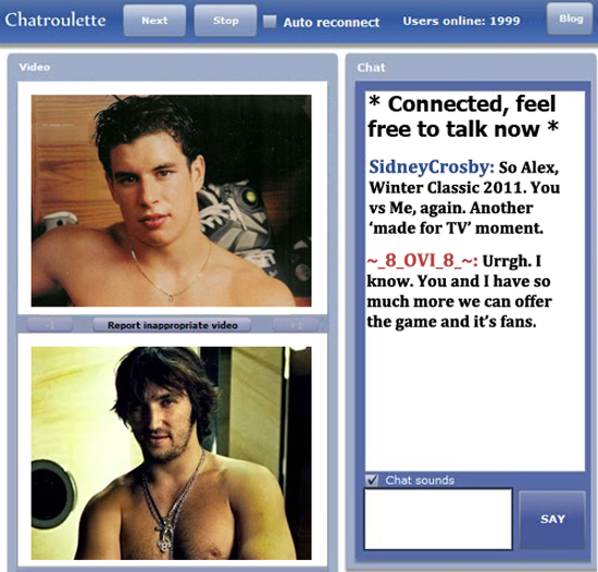 Gay male chat roulette
