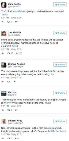 irelands marriage referendum tweets