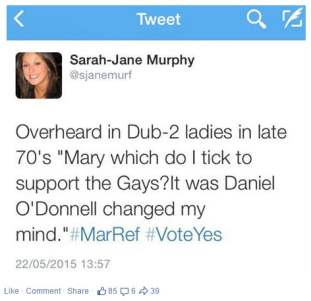 marriage equality vote tweet