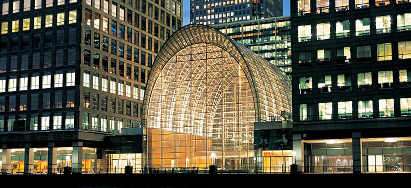 east wintergarden canary wharf unique wedding venue london