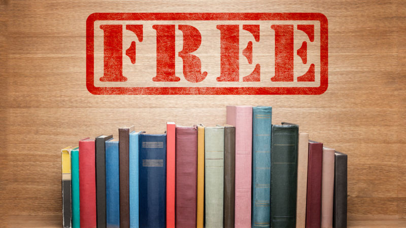 Free books at L.B. Library on Nov. 11