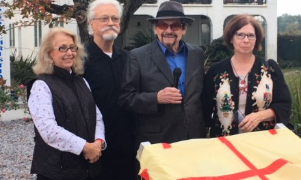 Old Spanish Trail Heritage Trace marker dedication