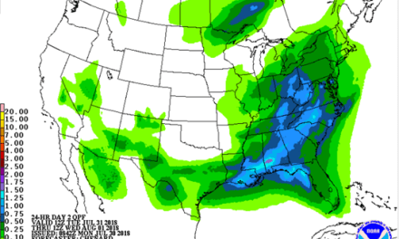 EXCESSIVE RAINFALL FOR TUESDAY