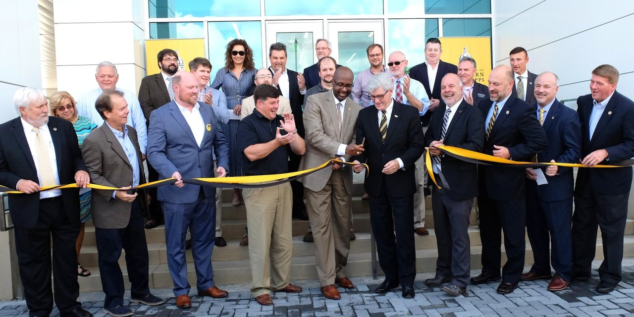 Grand Opening for USM's $12.2-million Marine Research Center