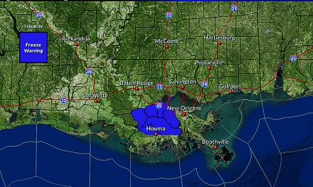 FREEZE WARNING TONIGHT ON THE MISSISSIPPI GULF COAST