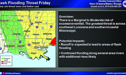Flash Flood Watch & Heavy Rain Potential Today through Friday