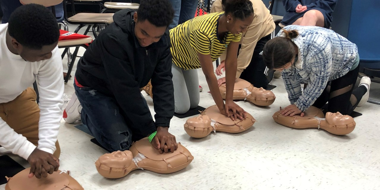 DSV Donation to Provide Pass Christian High School Students with Lifesaving CPR Skills