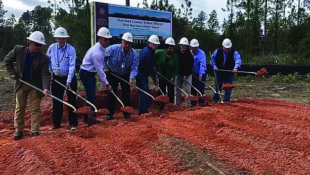Groundbreaking Ceremony at New West Harrison Middle School