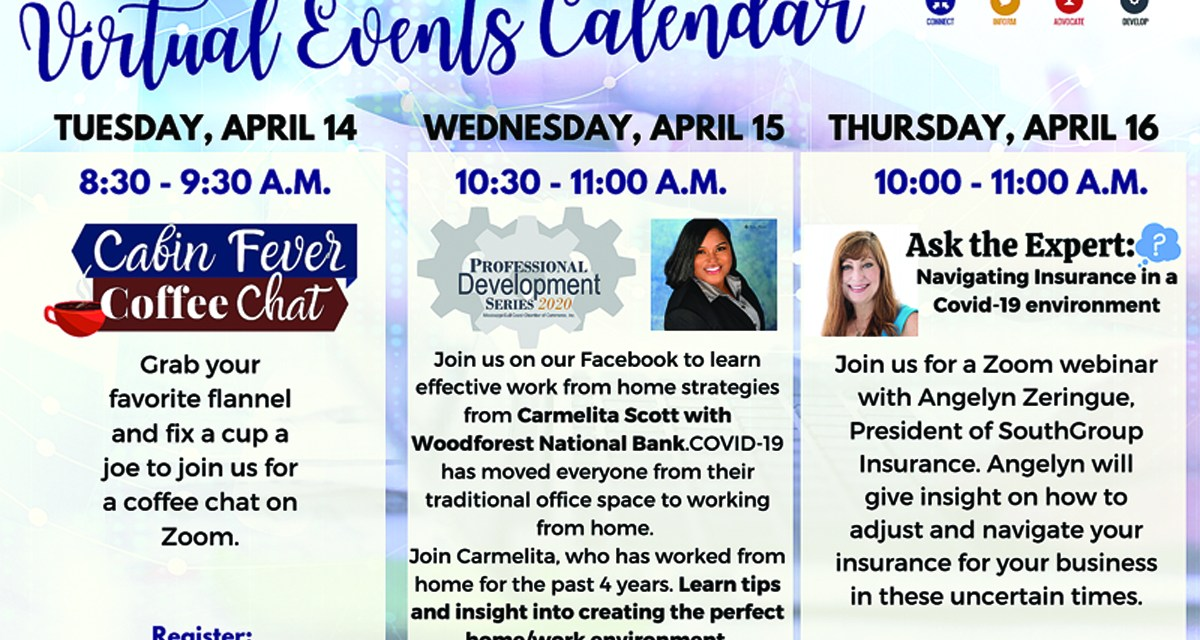 MGCCC Continues Weekly Virtual Events