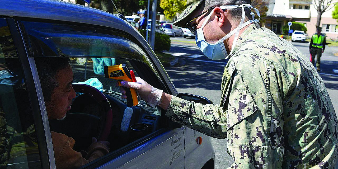 Face Masks Required at Exchange, Commissary on Seabee Base