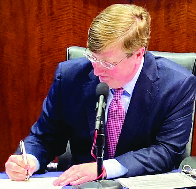 """Governor Reeves Signs Executive Order for Statewide """"Shelter in Place"""""""