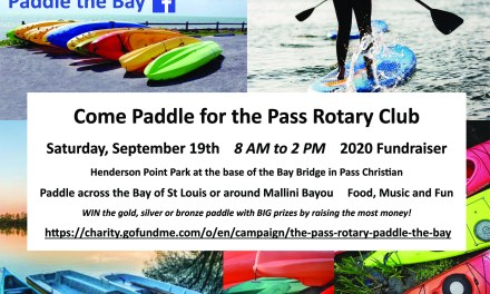 Rotary Hosts Paddle the Bay