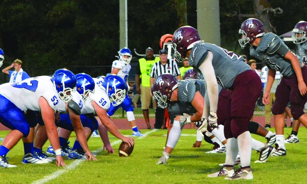 Bearcats Drop Road Game to Vancleave