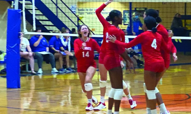 Lady Tigers Knock Pass Christian from Volleyball Playoff Chance
