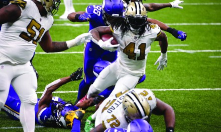 Saints Win Fourth Consecutive South Division on Christmas