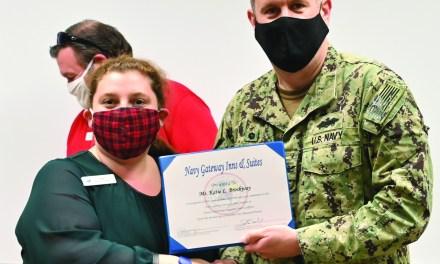 NCBC Employee, USM Grad Wins Navy-Wide Award