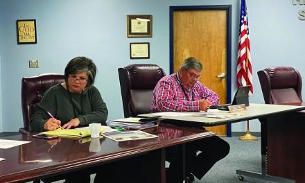 Harrison County School Board Elects New Officers