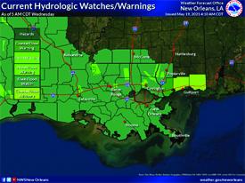 Coastal Advisory Extended Through Friday
