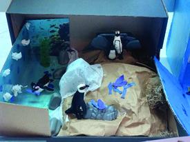 PCES Kindergarten Classes Showcase the Animal Habitat Project