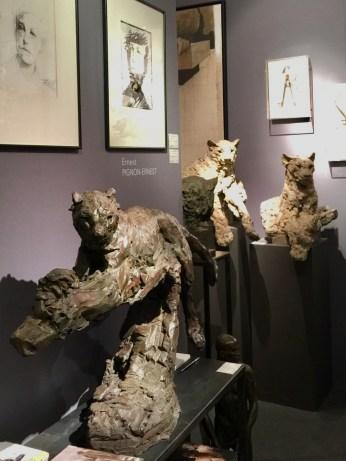Sculptures en bronze de PATRICK VILLAS, Galerie BAYART