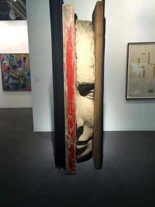 Mark Manders, Large composition with Red, ZenoX gallery @thegazeofaparisienne