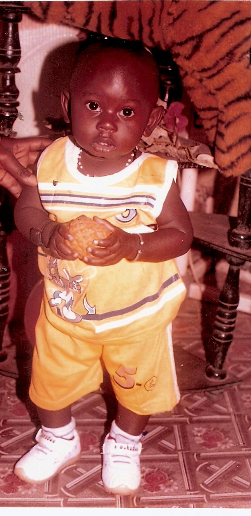 Kanyibaa's Orphaned Son. Now 1yr. 7 mnths.