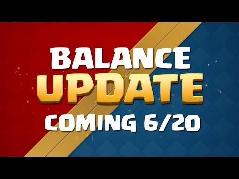 Clash Royale, balanceamento de 20-06-2018