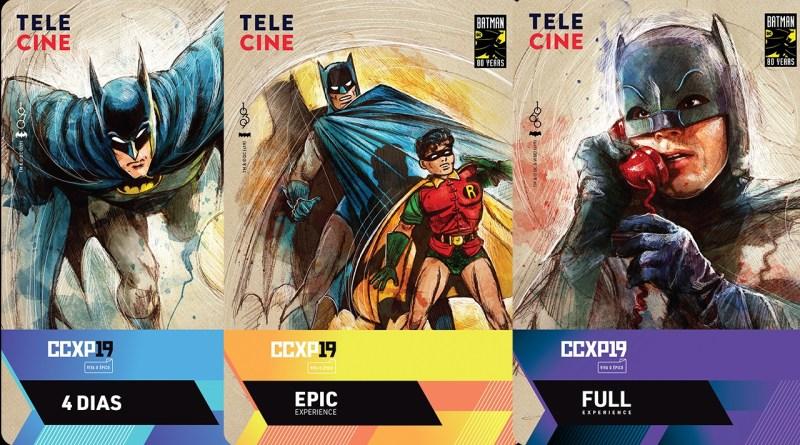 CCXP anuncia credenciais especial 80 anos do Batman