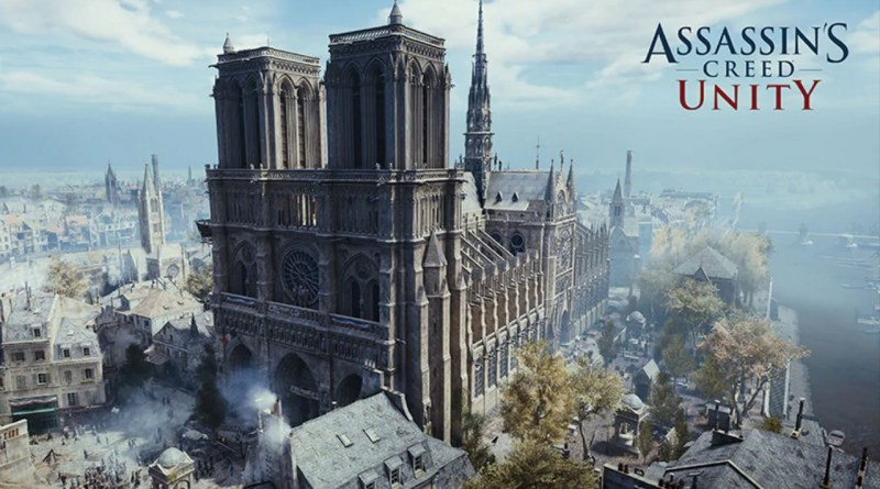 Ubisoft promove primeiro tour em realidade virtual pela Catedral de Notre-Dame