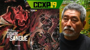Julio Shimamoto é o homenageado do Artists' Alley na CCXP19