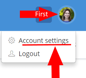 convertkit account settings