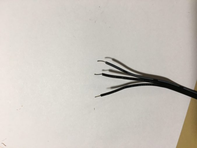 3 pin fan cable