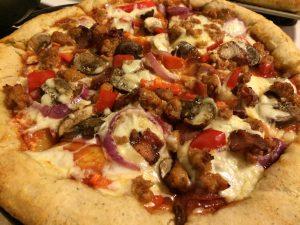 Friday Bake: Stuffed Crust Pizza