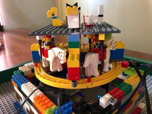 Weekend Build: Lego Carousel
