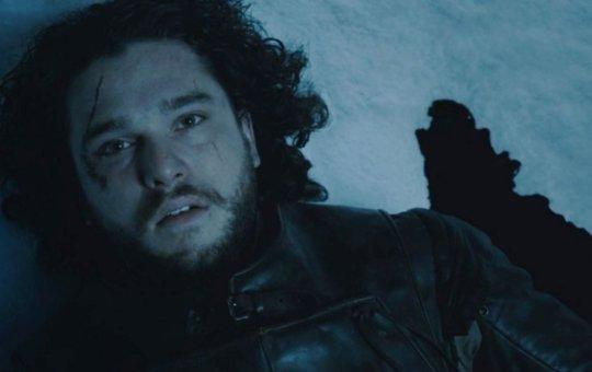 Jon Snow death scene game of thrones