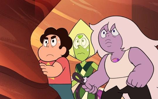 Beta and Earthlings Steven Universe