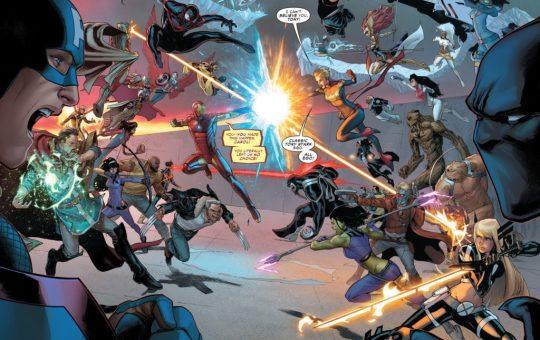 Civil War II Issue Five