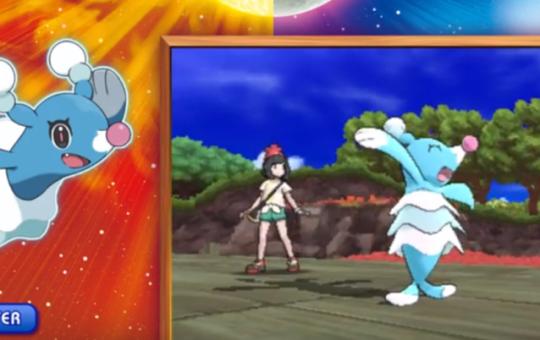 Pokemon Sun and Moon Brionne