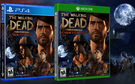 The walking dead A New Frontier Telltale Games above the law