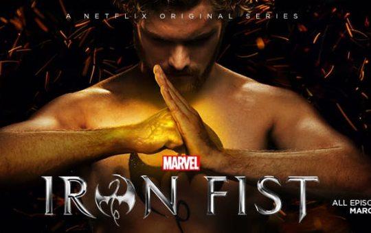 Iron Fist Netflix Marvel Finn Jones