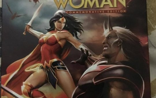 wonder woman: commemorative edition blu-ray review