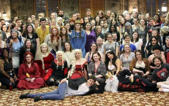 ice and fire con 2017 group photo